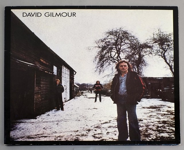 "DAVID GILMOUR - Self-Titled (FOC / Gatefold cover ) 12"" LP ALBUM VINYL"