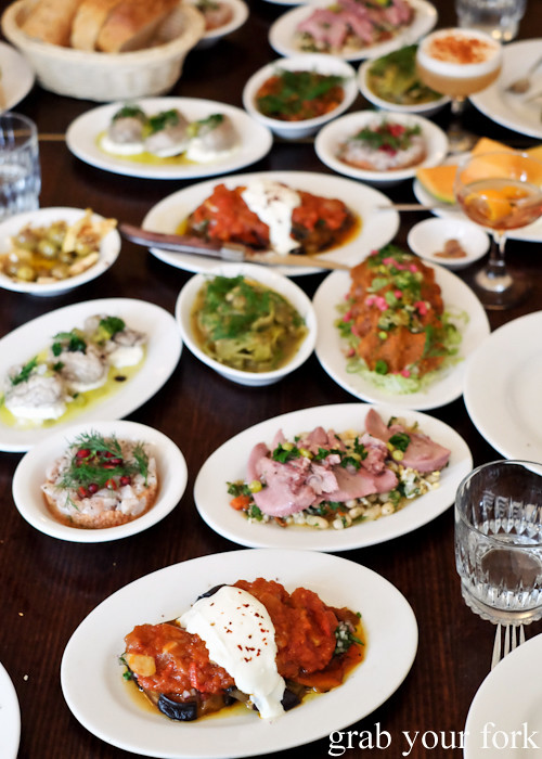Turkish meze at Stanbuli in Enmore