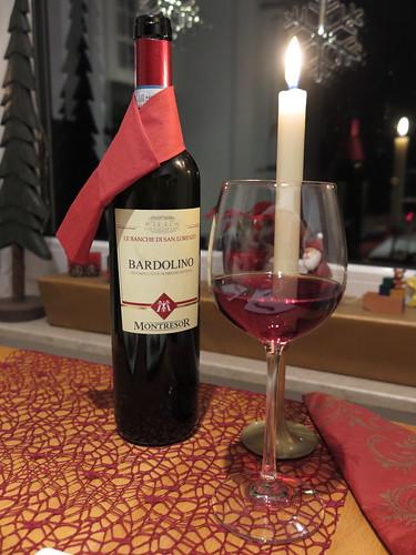 Bardolino Le Banche di San Lorenzo (harmonischer Rotwein vom Weingut Giacomo Montresor)
