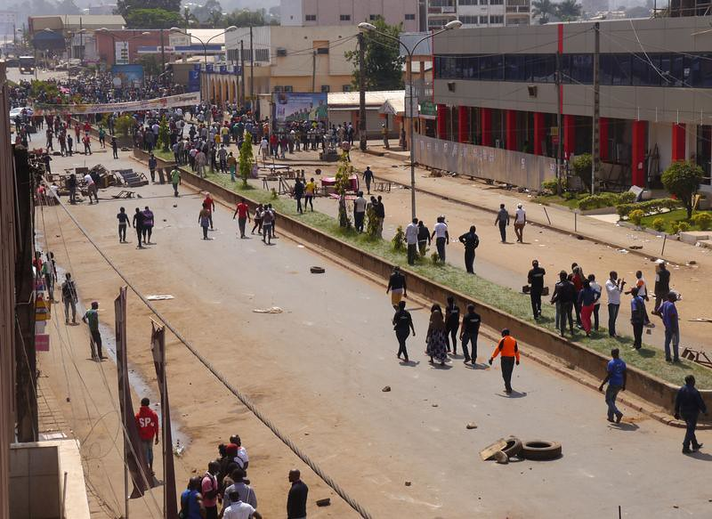 CAMEROON-PROTESTS/