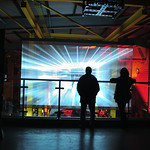 Illuminate York 2016 - NRM Warehouse warp drive