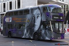Wrightbus NRM NBFL - LTZ 1554 - LT554 - Aussie - Victoria 16 - Metroline - London - 161203 - Steven Gray - IMG_9702