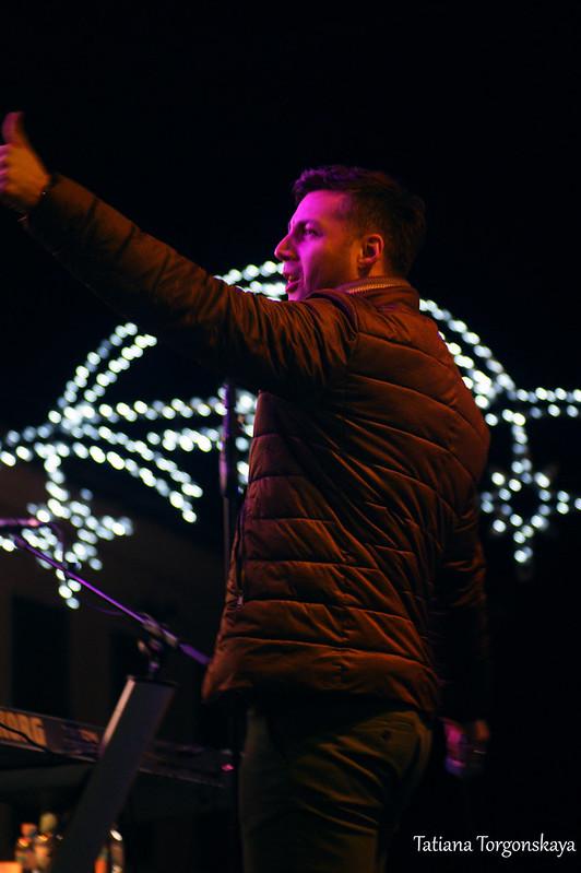 """Боян Васкович, солист  """"Lexington band"""""""