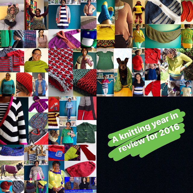 2016 Knitting Year Review