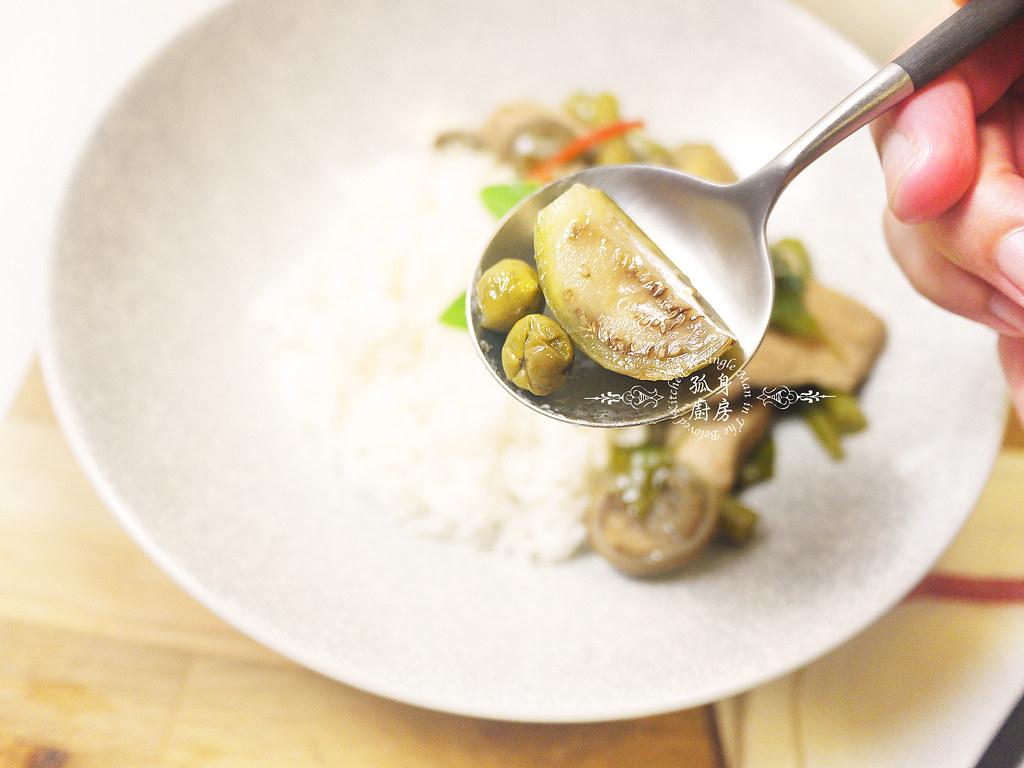 孤身廚房-滿滿新鮮香料版的泰式綠咖哩雞35