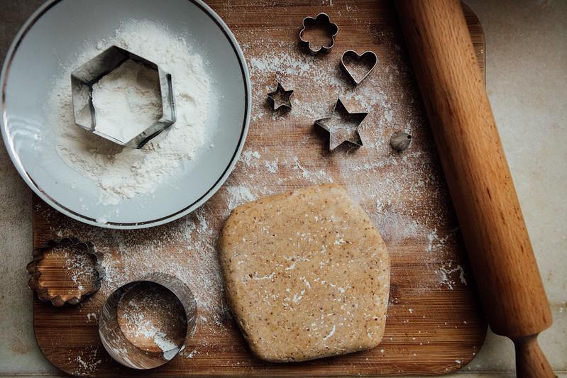 Biscoitos Linzer