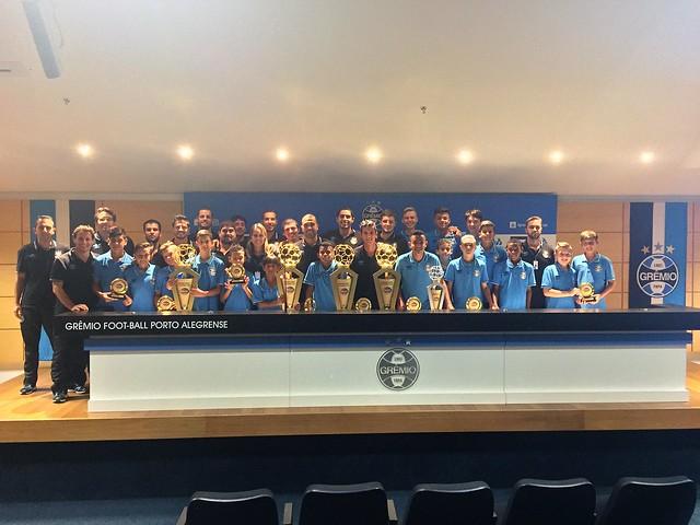 Grêmio é premiado em 4 categorias do Campeonato Gaúcho de Categorias de Base