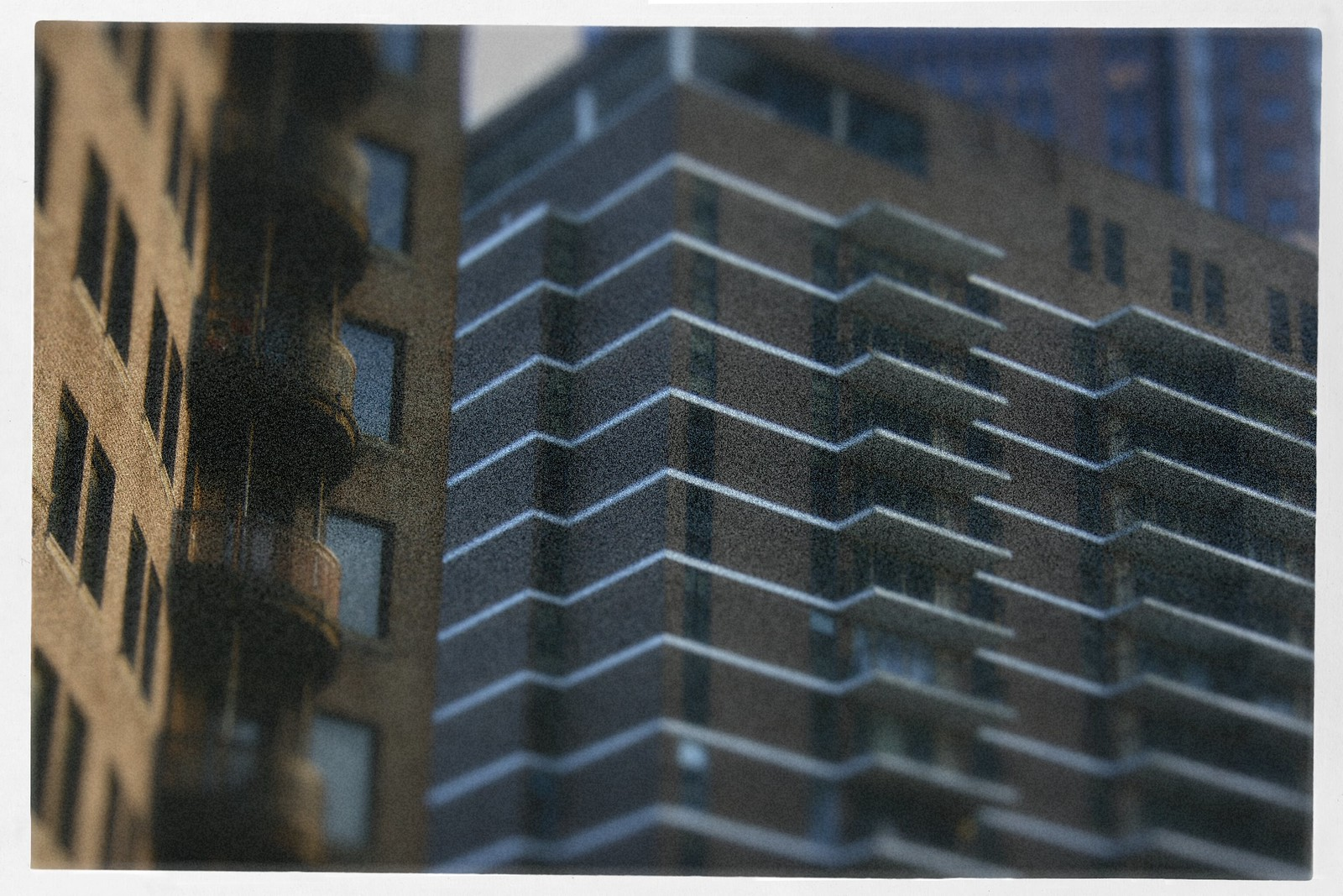 Balconies of the Windsor over Peachtree, Ponce and Peachtree, Atlanta, 2015
