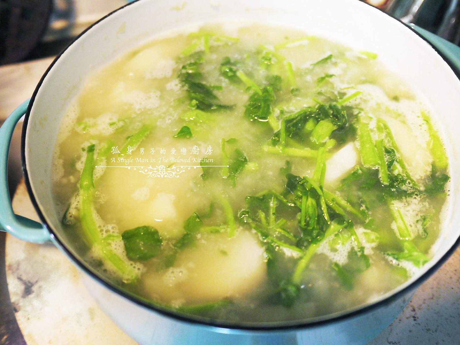 孤身廚房-西洋菜馬鈴薯濃湯25