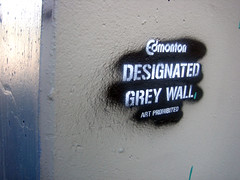 Edmonton - Designated Grey Wall - Art Prohibited | by mech