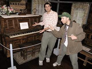 Will, Corey, and the Piano | by misterbisson