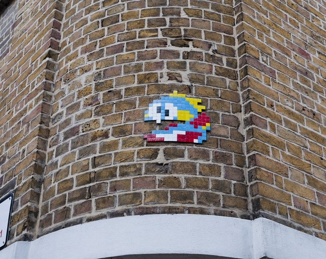 Reactivated Space Invader LDN_082