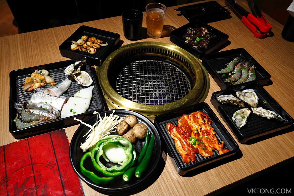 KG Korean Charcoal BBQ Buffet Damen