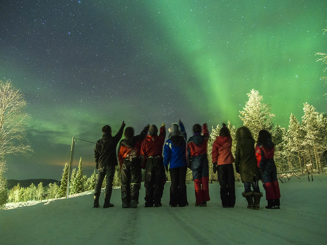 we and northern lights