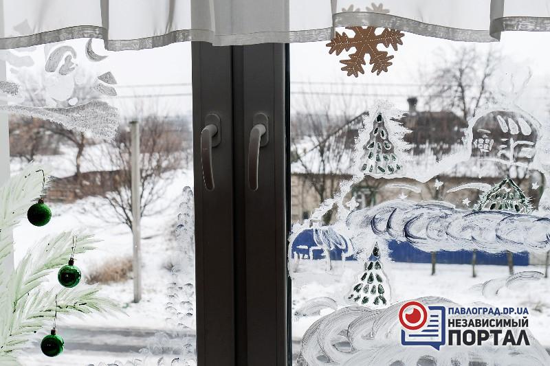 10 Нові вікна прикрашені візерунками. копия