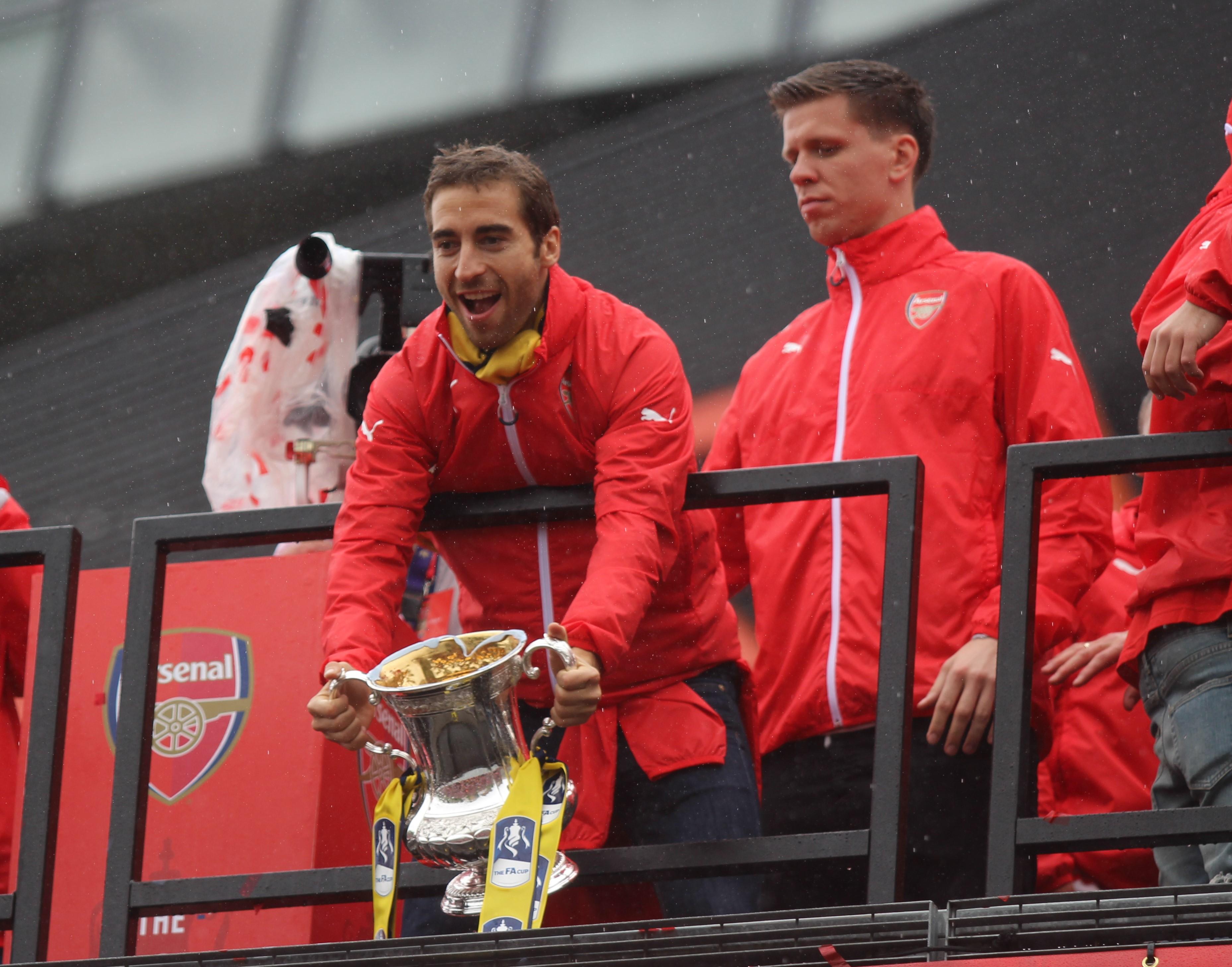 Arsenal FA Cup Parade 2015
