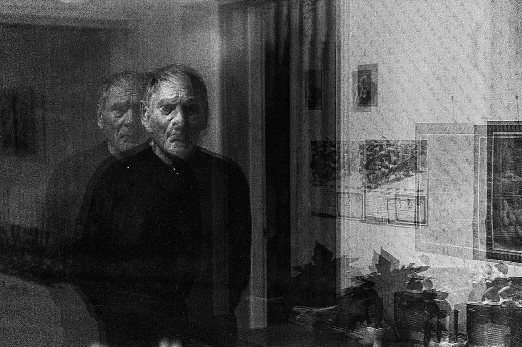A man with Alzheimer's. Photo: Antti Yrjönen 2012