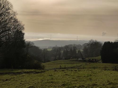 Views over Severn Estaury