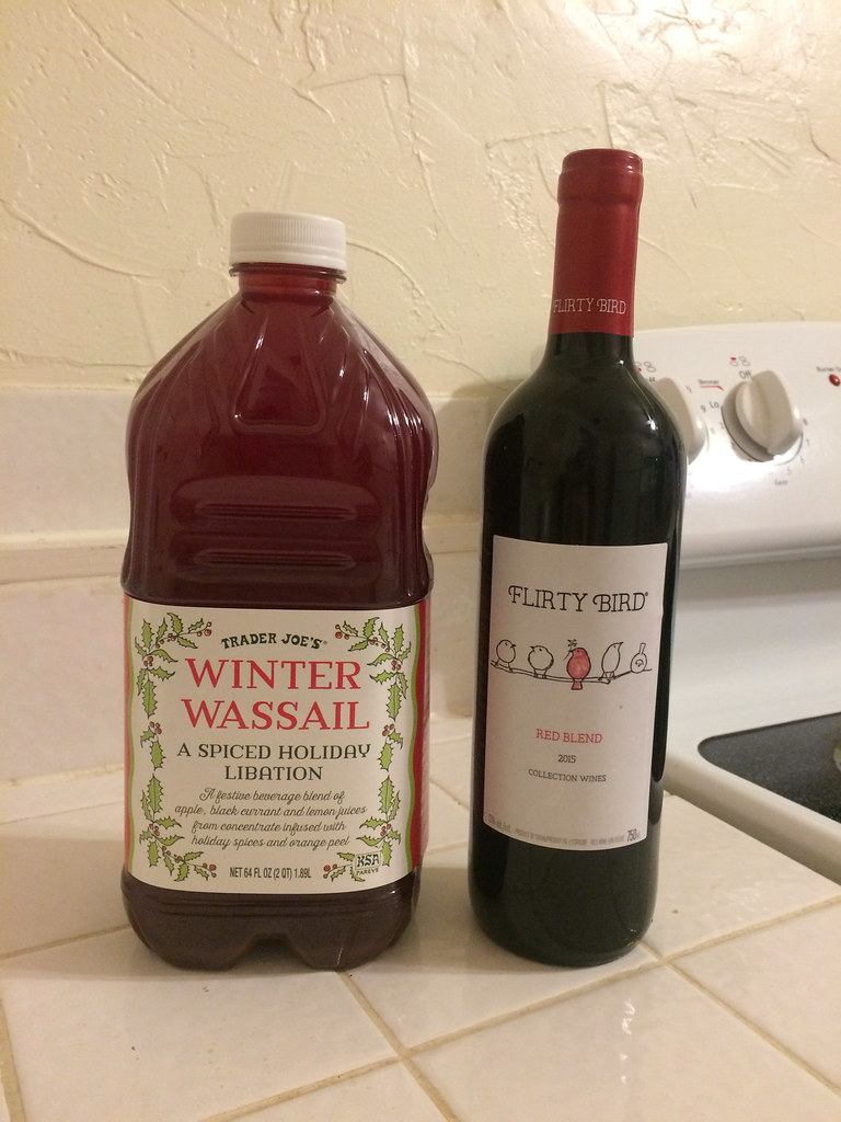 Winter Wassail and Flirty Bird Red Blend