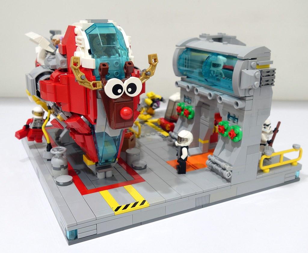 Santa's space ship