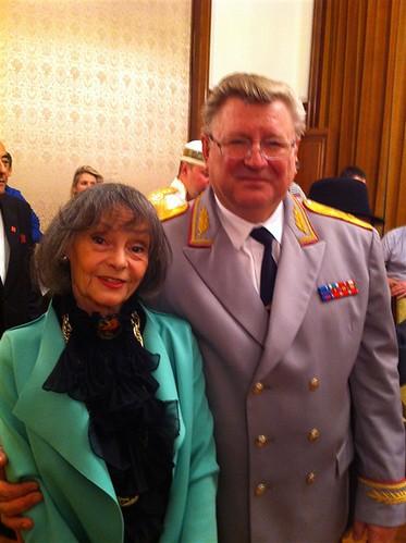 Cu generalul Eliseev