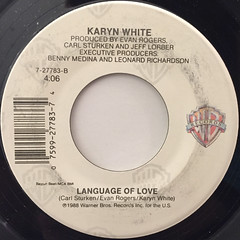 KARYN WHITE:SUPERWOMAN(LABEL SIDE-B)