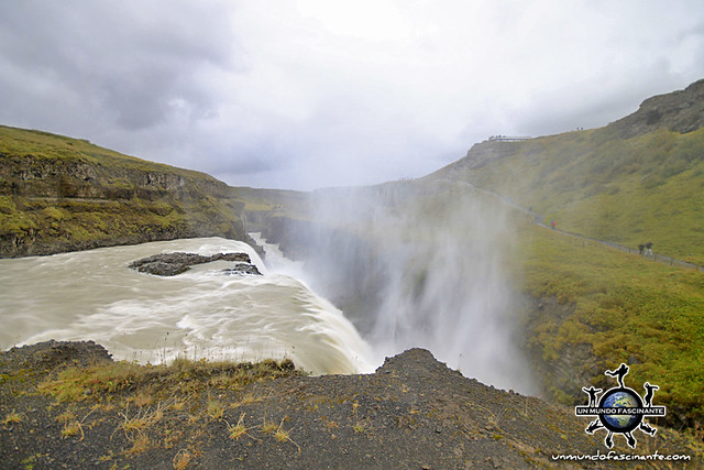 Gullfoss, Islandia.
