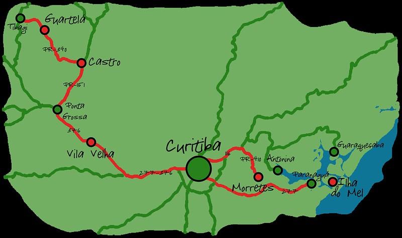 Escapadas desde Curitiba
