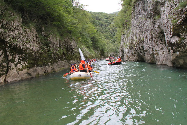 Neretva Rafting takes five hours