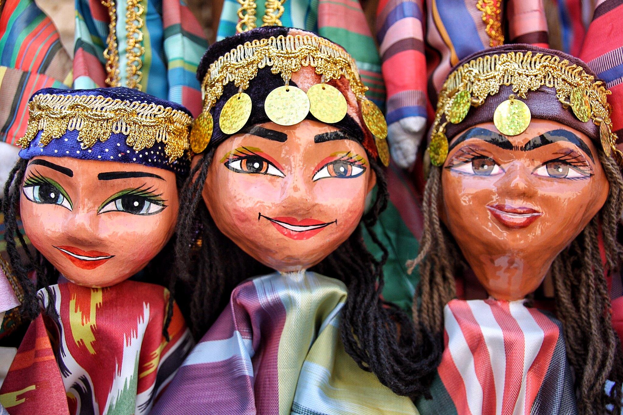 Puppets from Khiva-Uzbekistan