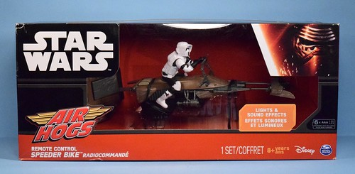 Remote Control Speeder Bike by Air Hogs
