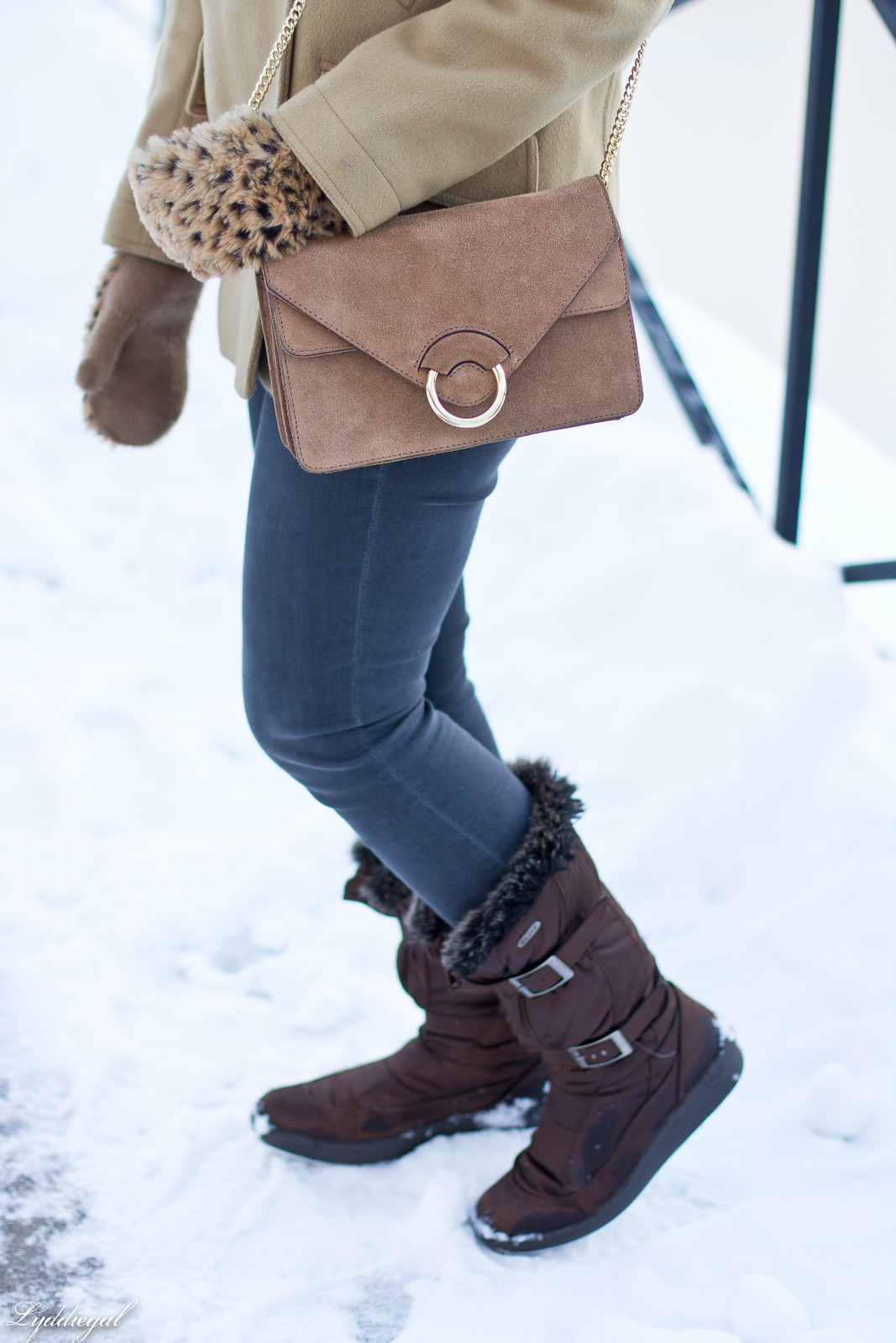 came coat, grey denim, leopard mittens, suede accordion bag-8.jpg