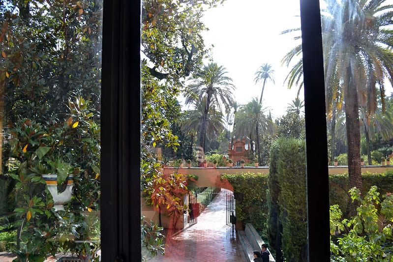 Un vergel palacial en Sevilla