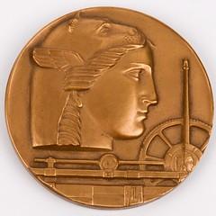 Medallic Art Company 50th Anniversary Medal obverse
