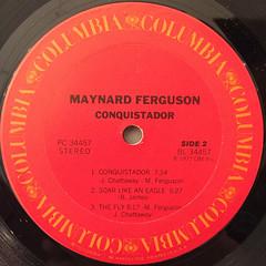 MAYNERD FERGUSON:CONQUISTADOR(LABEL SIDE-B)
