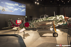 - 15267 - Japanese Air Force - Nakajima Ki-43-IIIa Hayabusa Replica - The Museum Of Flight - Seattle, Washington - 131021 - Steven Gray - IMG_3704