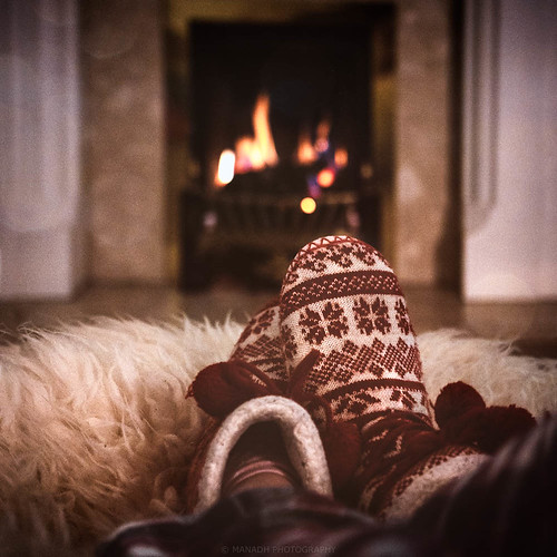 Cosy by the fire