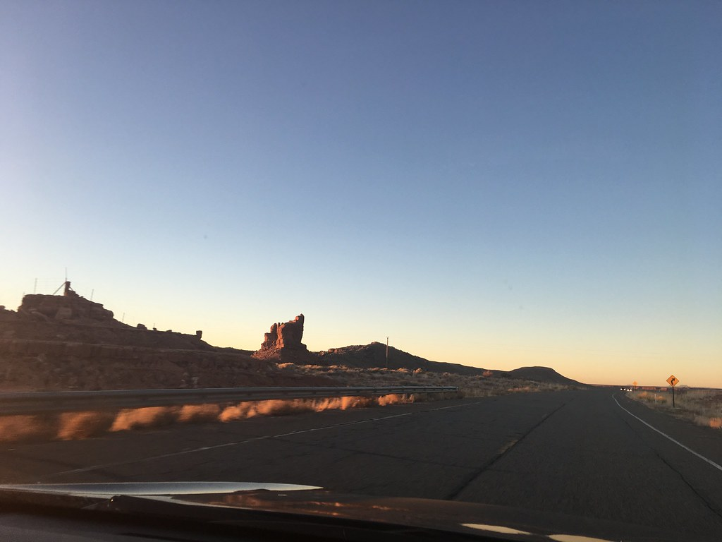 Monument Valley scenic drive is like a movie set