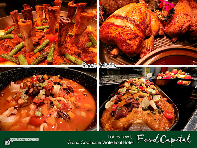 Grand Copthorne Waterfront Christmas Dishes