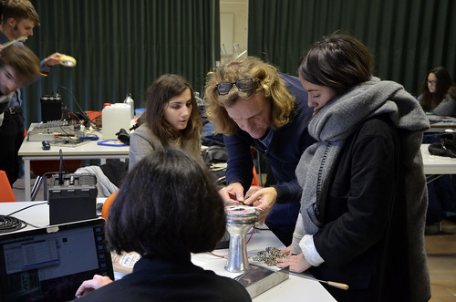 Le 75 (2016-2017) : Piezo workshop