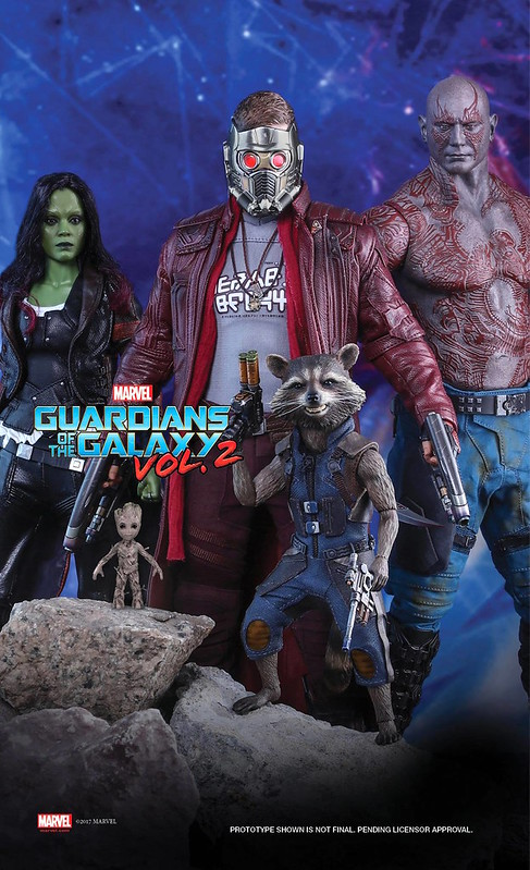 Hot Toys Guardians of the Galaxy Vol2