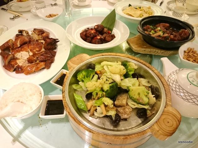 Jade Garden Tai Wo dinner