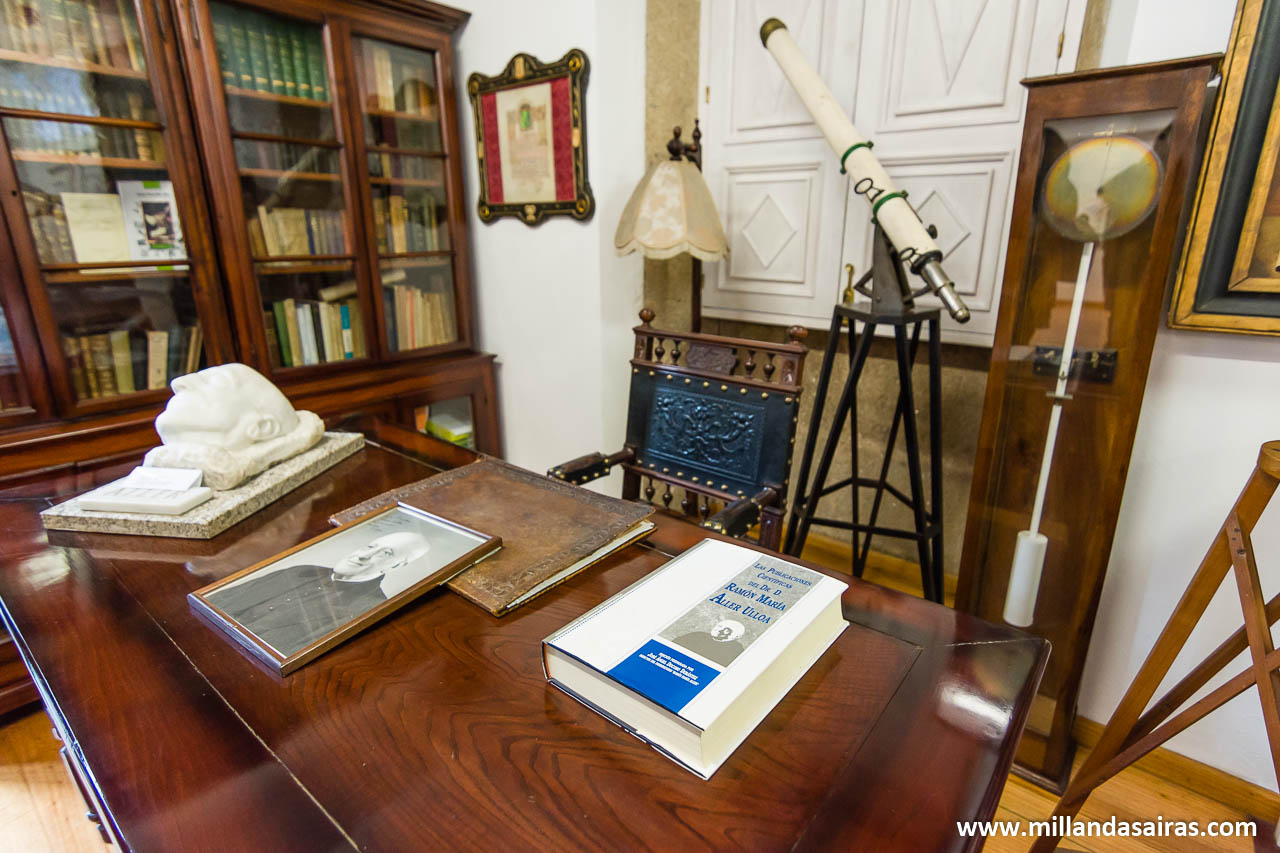 Reconstrucción del despacho de Ramón Mª Aller
