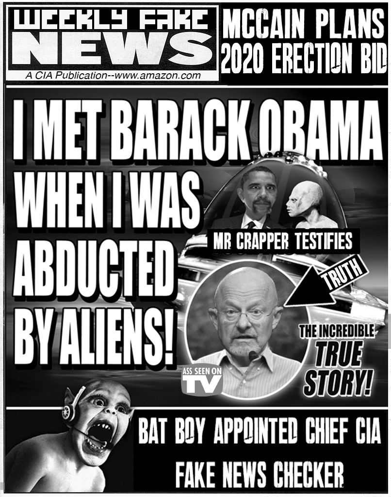 WEEKLY FAKE NEWS
