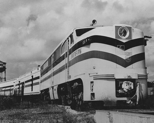Photograph of Freedom Train