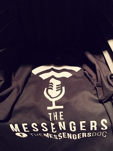 #ThisIsMyMessage t-shirt. As a fellow podcaster, I have backed the podcast documentary, The Messengers.