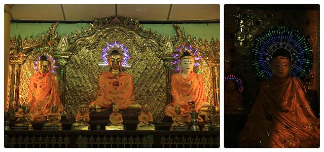 Buddhas, Shwedagon Pagoda