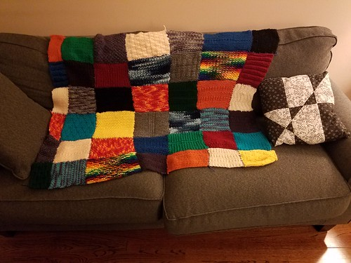 Technicolor Throw Blanket
