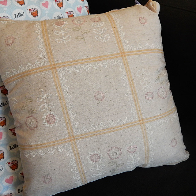 Birds Sashiko Pillow