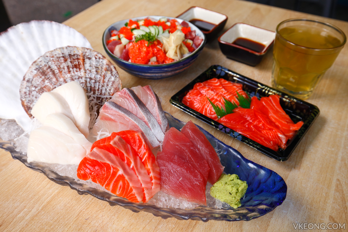 The Fat Fish Sashimi Meal